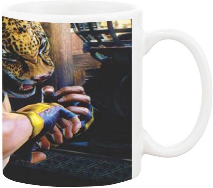 Impresion Tekken 5 king Game 1475 Ceramic Mug Price in India