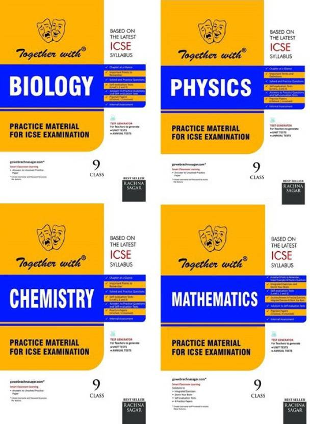 Together With Class 9 ICSE Combo (Physics + Chemistry +