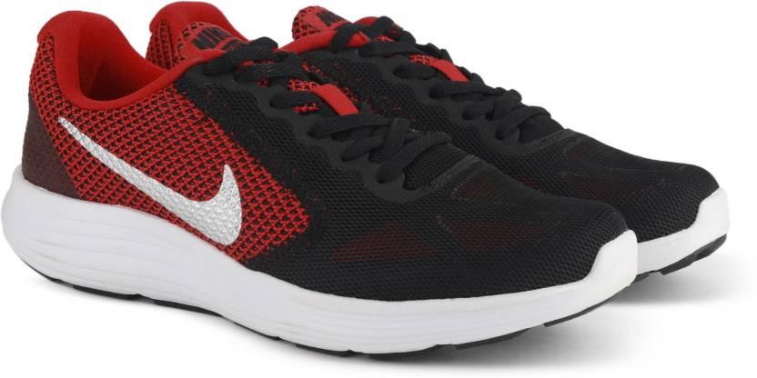 09c46f47442 Nike REVOLUTION 3 Running Shoes For Men - Buy UNIVERSITY RED ...