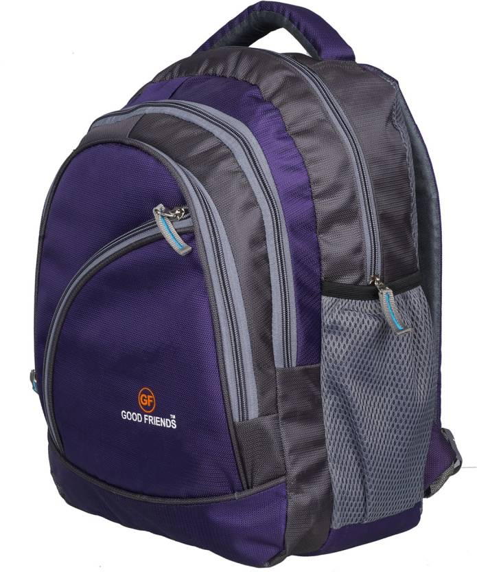 a1e4992040 Good Friends 3 To 5 Class High Quality Zip Backpack Waterproof School Bag  (Purple