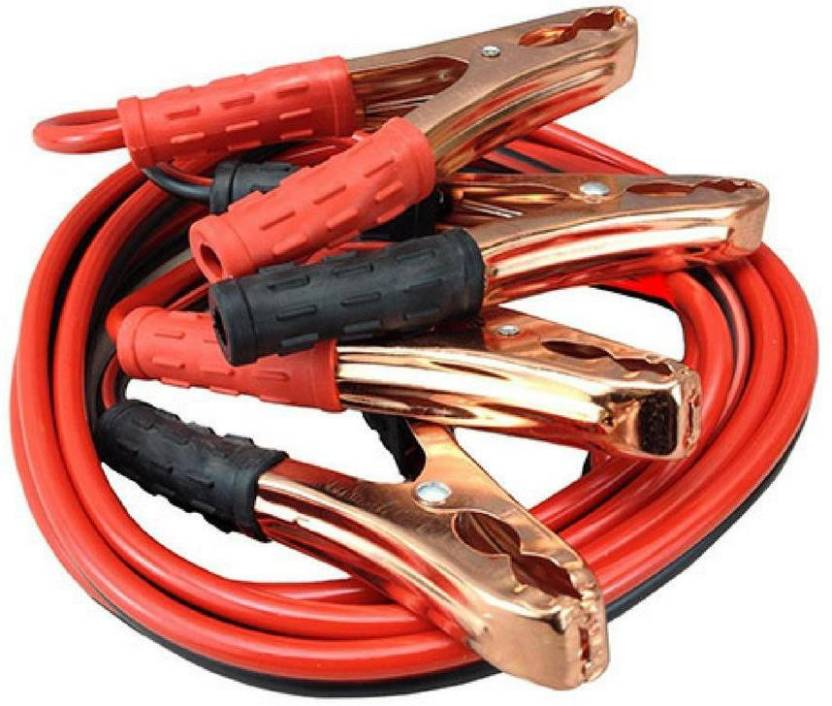 Babrock Car Heavy Duty Auto Battery Booster 2 21 Meter Jumper Cable Storage Wire Clamp With