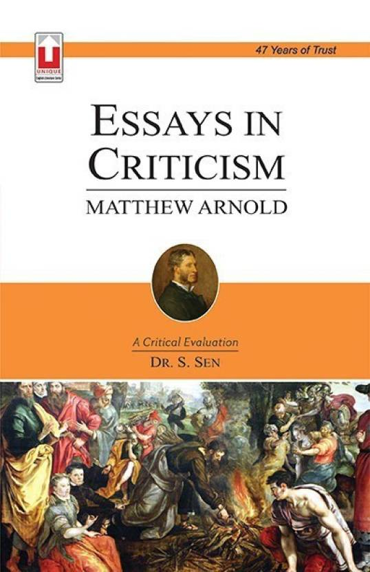 Essay About English Language Matthew Arnold Essays In Criticism English Essay Questions also Sample Essay Papers Matthew Arnold Essays In Criticism Buy Matthew  Essays About Health