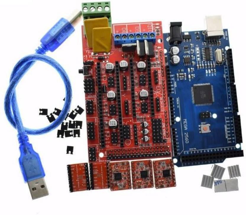 Technologybazar - RAMPS 1 4 + ARDUINO MEGA 2560 + 5pcs A4988