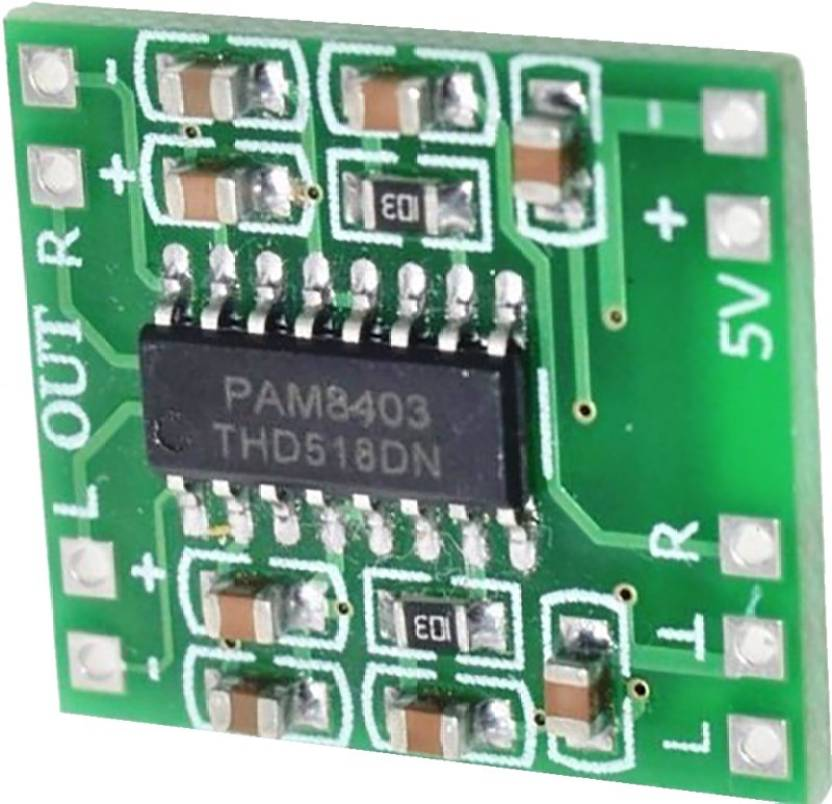 TCS PAM8403 module Super board 2 * 3W Class D digital amplifier Sound  Recorder and Sound Circuit Electronic Hobby Kit