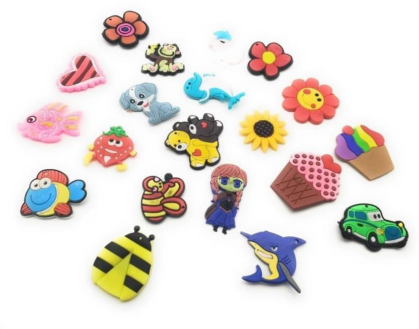 Satyam Kraft Silicone Cartoon Animal Fridge Magnets 20 Pcs ...