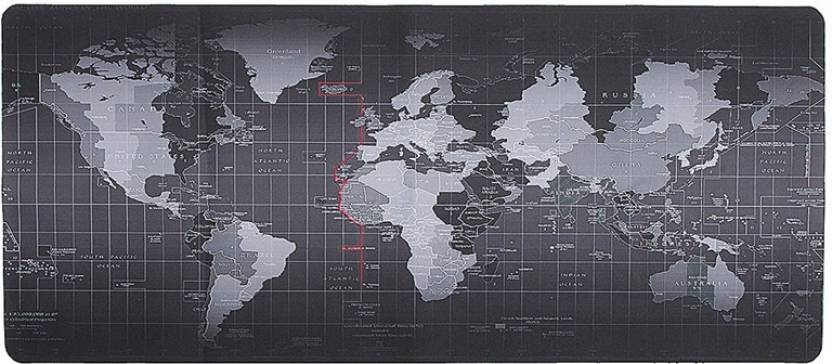 Retrack 90cmx40cm world map xl size gaming mouse pad desk mat retrack 90cmx40cm world map xl size gaming mouse pad desk mat mousepad gumiabroncs Images