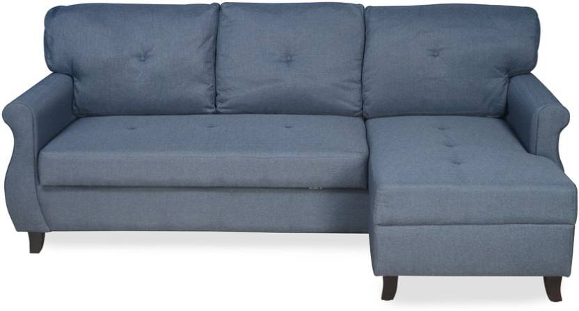 Home By Nilkamal Benin Double Solid Wood Sofa Bed Price In India