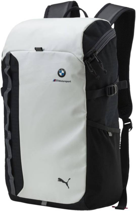Puma BMW M MSP 24 L Laptop Backpack WHITE - Price in India ... c618ade121093
