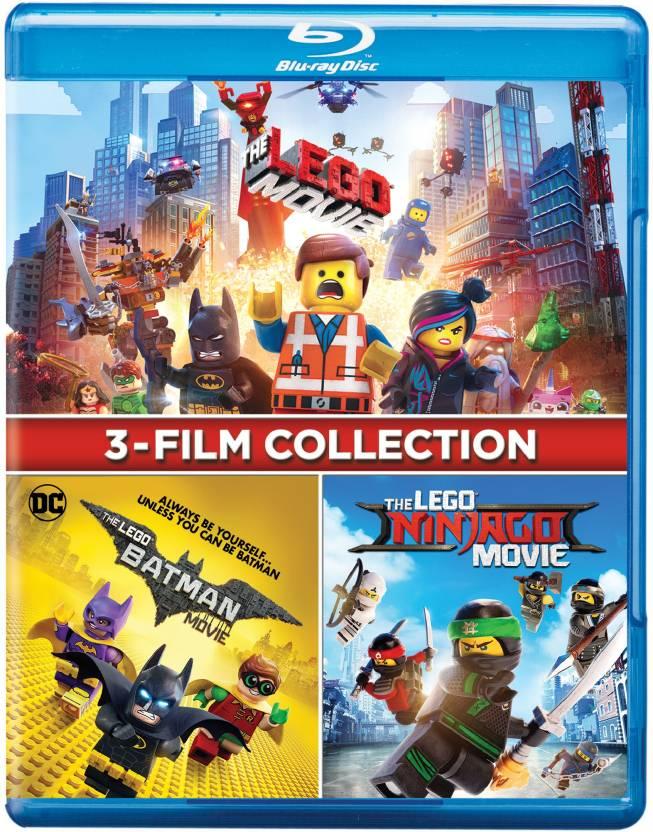 DC Lego 3 Movies Collection: The Lego Movie + The Lego Batman Movie