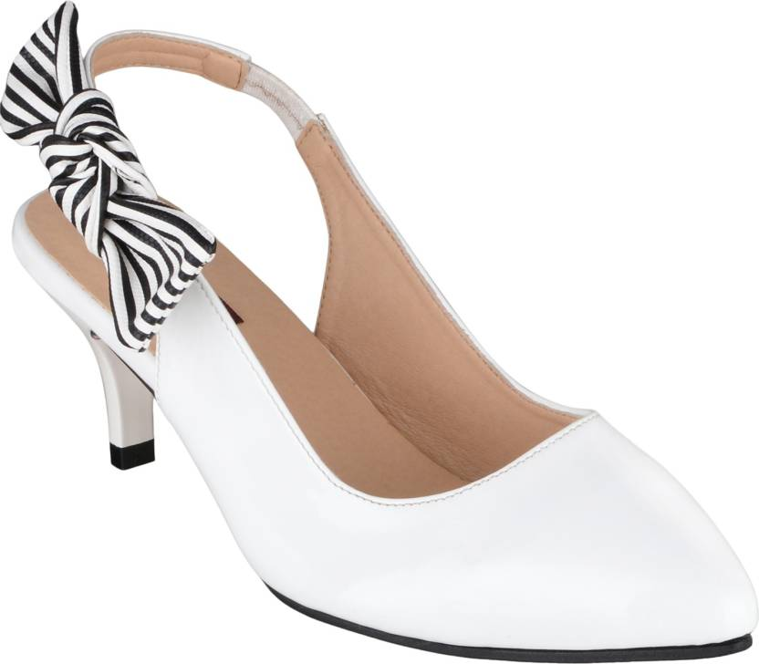 1478562b2021 Shuz Touch Women WHITE Heels - Buy Shuz Touch Women WHITE Heels Online at  Best Price - Shop Online for Footwears in India
