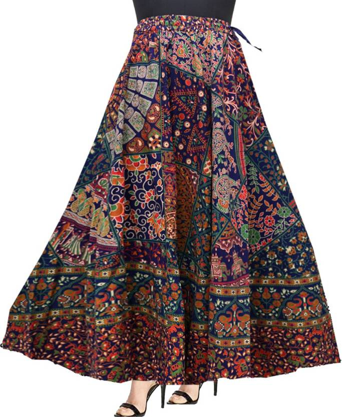 bb27fd2825 Mudrika Printed Women's Layered Multicolor Skirt - Buy Mudrika Printed  Women's Layered Multicolor Skirt Online at Best Prices in India | Flipkart .com