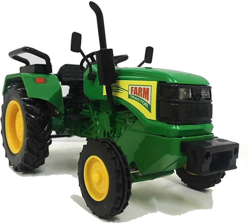eabd1709f59 E-Chariot Farm Tractor Miniature Automobile toy (Pull Back Action ...