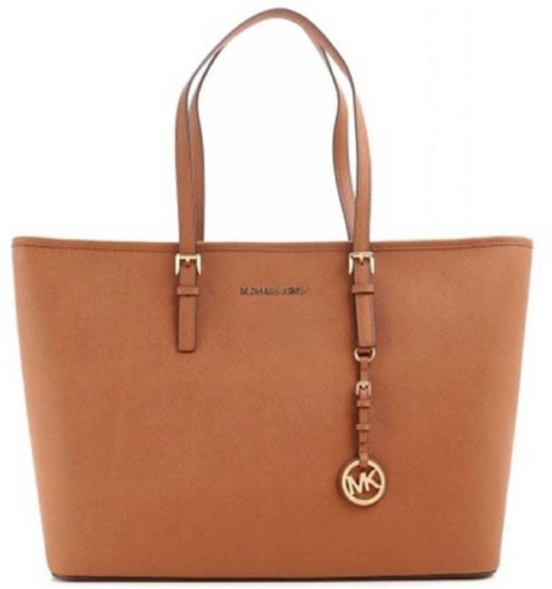 d198180147b5 NIRYAT INTERNATIONAL Michael Kors Replica - WB Shoulder Bag (Brown, 4 L)