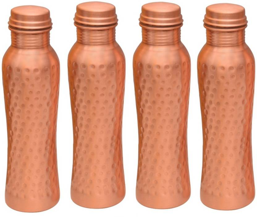 King Villa Copper 1000ml Pack of 4  1000 ml Bottle Pack of 4, Brown