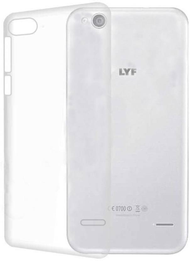 pretty nice 7df62 a944e ARCMOBI Back Cover for Reliance LYF Flame 8 (Transparent) - ARCMOBI ...