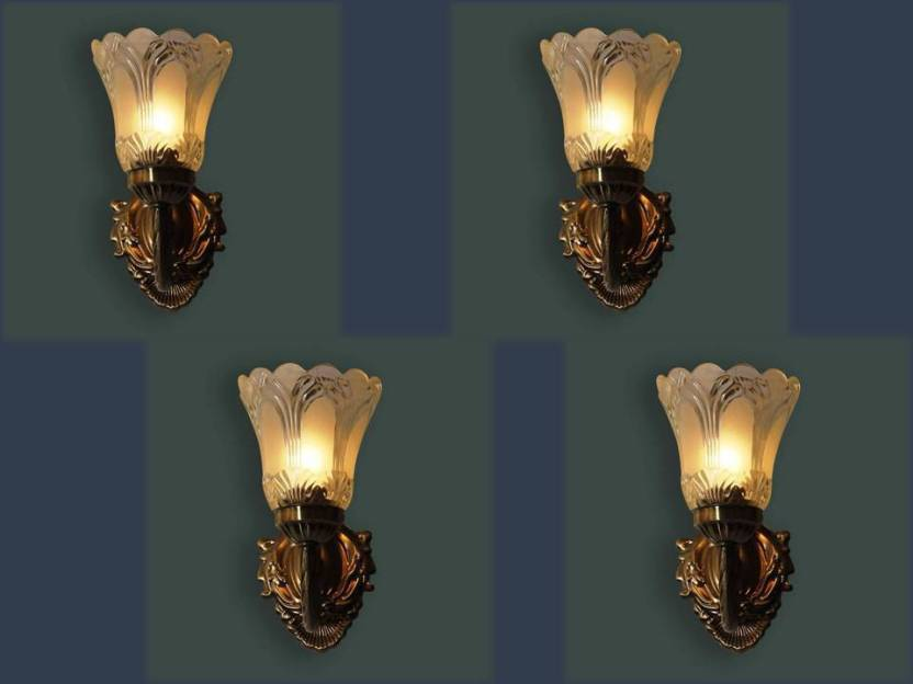 Vagalleryking Antique Crazy Decorative Sconce Lamp 1117 Wall Lights Shade Aluminium Gl Br