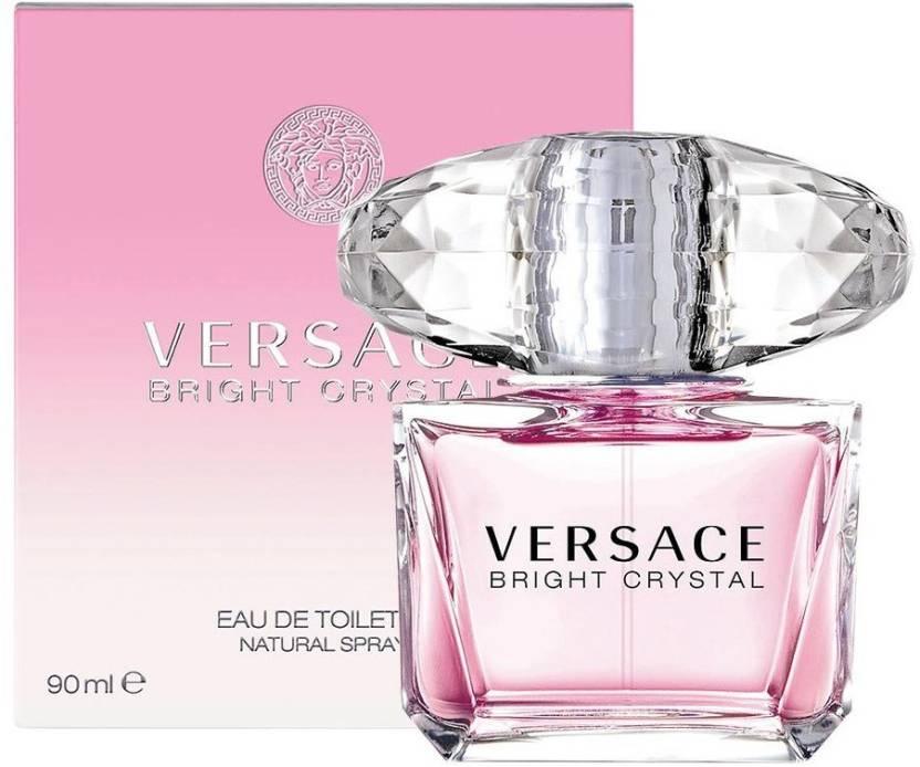 0272ba8f Buy Versace Bright Crystal (EDT) Eau de Toilette - 90 ml Online In ...