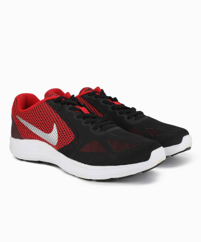 92a21581167a1 Nike REVOLUTION 3 Running Shoes For Men - Buy UNIVERSITY RED ...