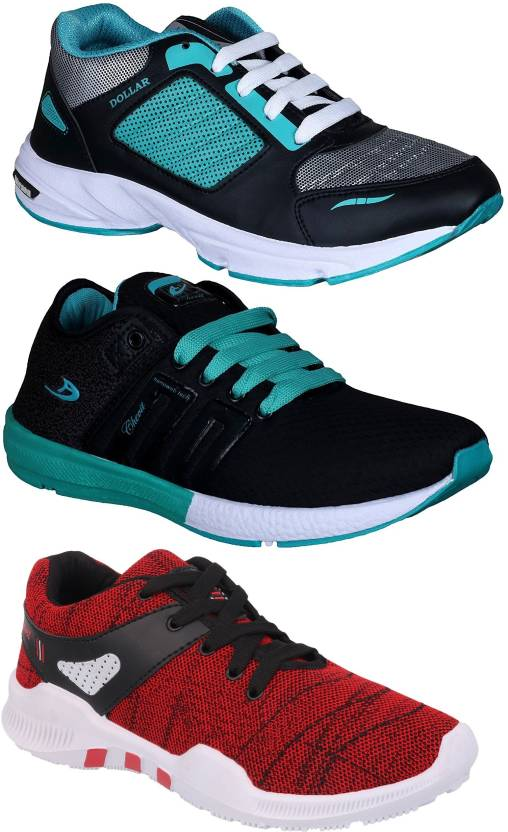 14f99915d76 Chevit Combo Pack of 3 Sports Shoes Running Shoes For Men (Multicolor)