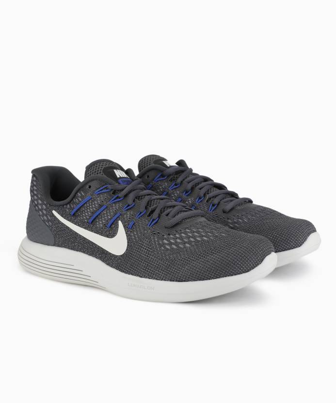 57cb828a2 Nike LUNARGLIDE 8 Running Shoes For Men - Buy DARK GREY SUMMIT WHITE ...