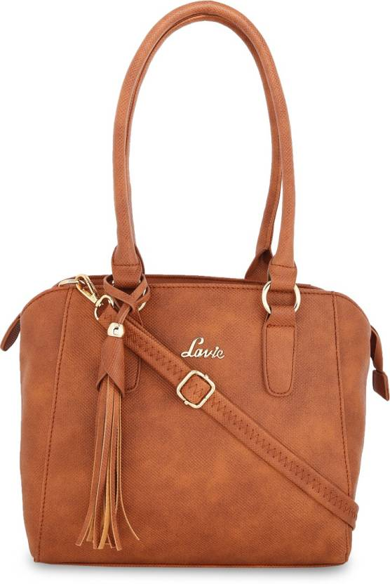 7f39c75b5bc Lavie Women Evening Party Brown Leatherette Shoulder Bag Brown - Price in  India