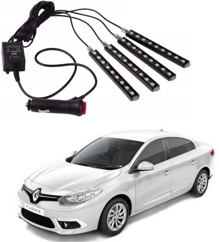 Auto Garh Premium Quality 4 In 1 Multi Color Music 36 Led Car Interior Underdashboard Lighting