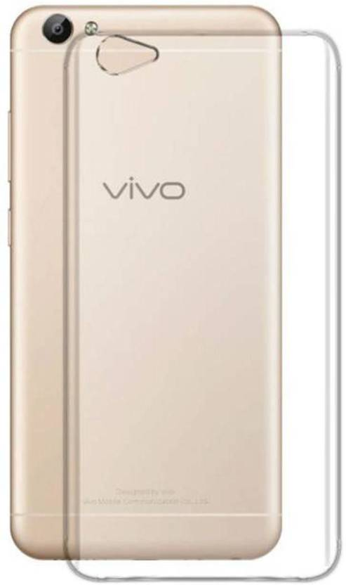 finest selection 06380 e6563 FONECASE Back Cover for VIVO V5 (Transparent, Flexible Case ...
