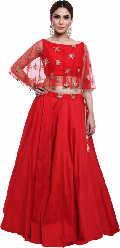 05384c257 red wedding Women Top and Skirt Set - Buy red wedding Women Top and Skirt  Set Online at Best Prices in India | Flipkart.com
