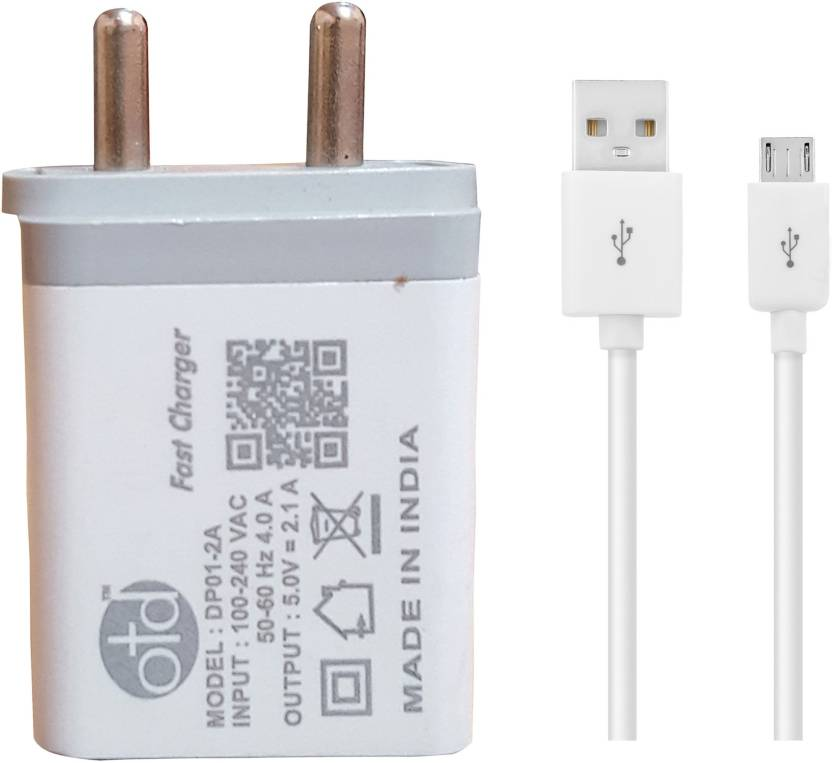 OTD Wall Charger Accessory Combo for Oppo A83 Price in India