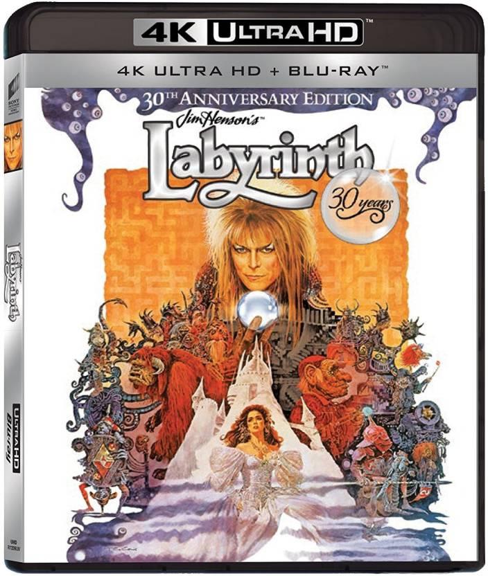 Labyrinth: 30th Anniversary Edition (4K UHD + Blu-ray + Digital HD +