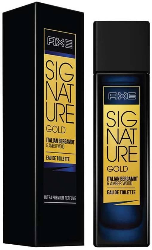 Buy Axe Signature Gold Italian Bergamot Amber Wood Perfume Eau De