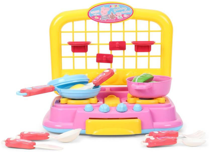 My Baby Excel Peppa Pig Kitchen Set Peppa Pig Kitchen Set