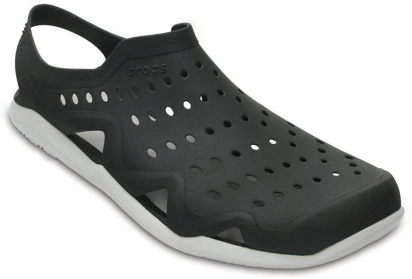 8a3b327606c8 Crocs Men Black Pearl White Sandals - Buy Crocs Men Black Pearl White  Sandals Online at Best Price - Shop Online for Footwears in India