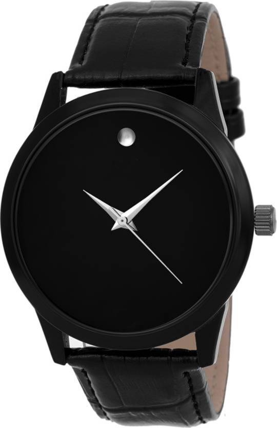 984ce4592f2 Lifetime New attractive professional black dial with diamond analog fancy  watch for boys leather belt watches for men wrist watch unique ...