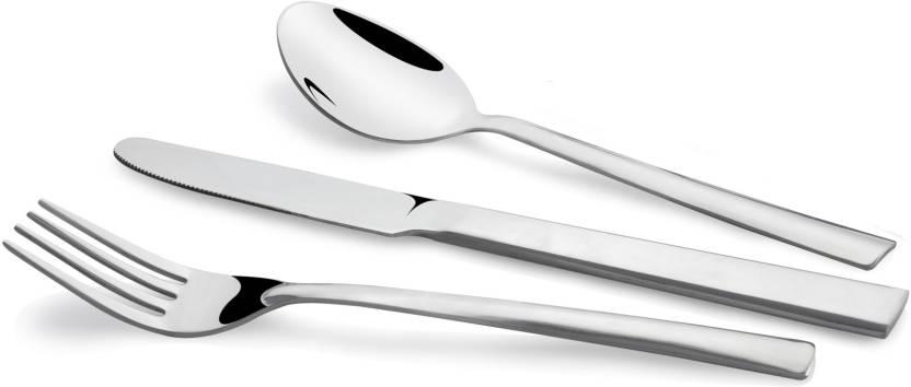 KOKO Stainless Steel Cutlery Set Pack of 18