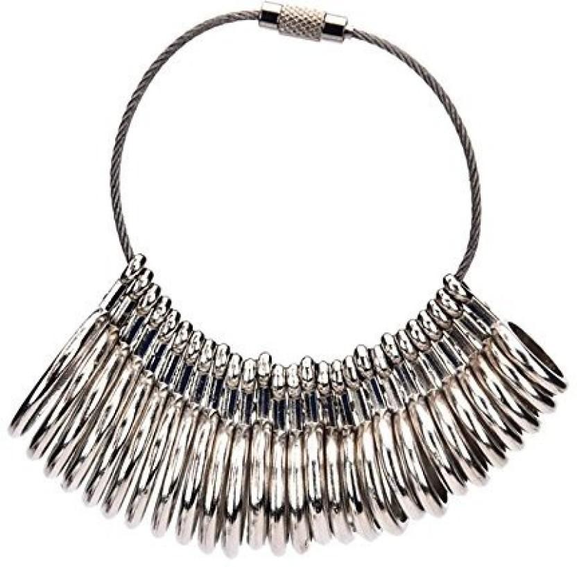 New 36pcs Metal Ring Sizer Professional Jeweler/'s Quality Universal US /& MM Size