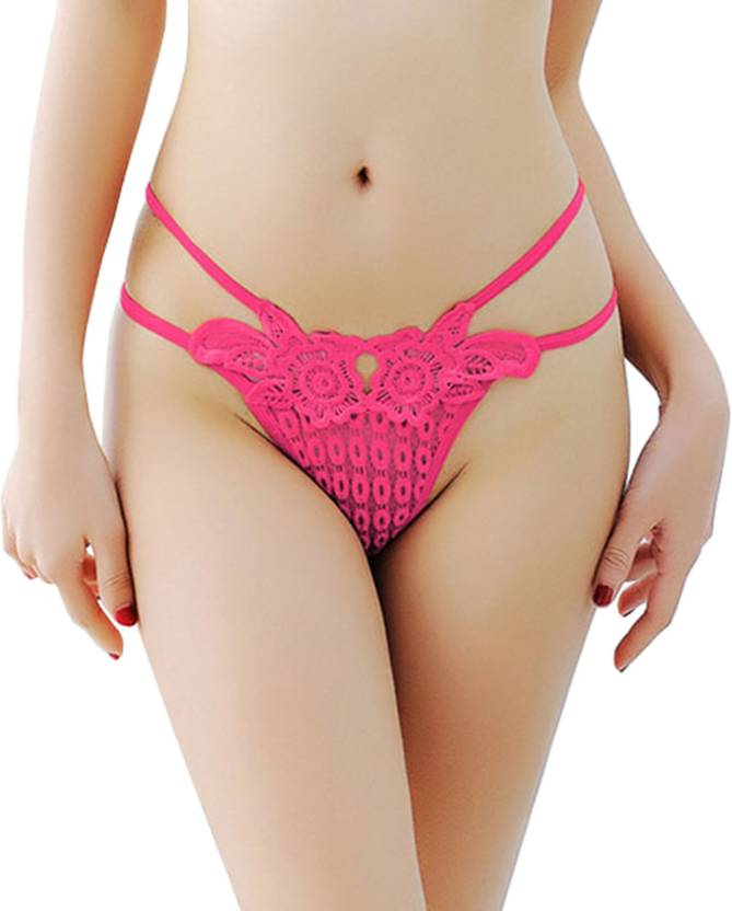 4b149b59e4c7 DealSeven Fashion Women's Thong Pink Panty - Buy DealSeven Fashion ...