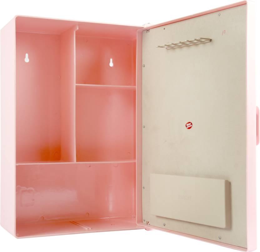 Zoom Sonata Bathroom Mirror Cabinet Plastic Mirror Storage