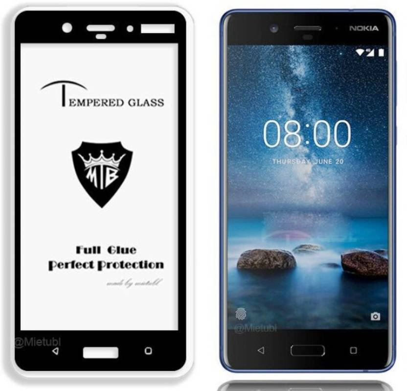 best quality e203e 15862 9H Edge To Edge Tempered Glass for NOKIA 5 (5D Tempered glass)(full ...