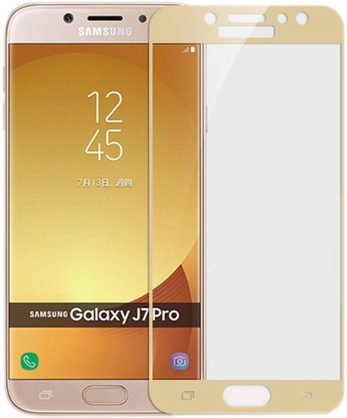 promo code 54f43 e27d1 NaturalBuy Edge To Edge Tempered Glass for Samsung Galaxy J7 Prime ...