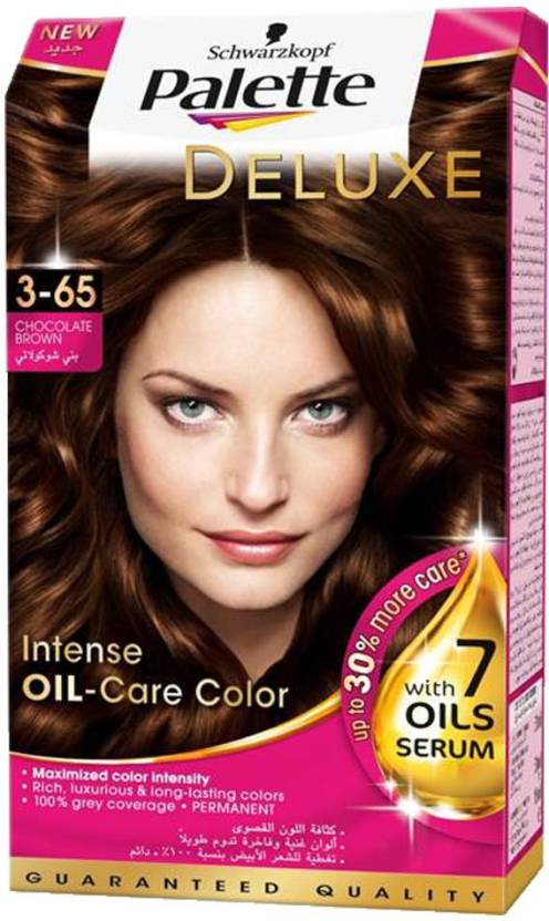 Schwarzkopf Palette Deluxe Intense Oil Care Color 3 65 Chocolate Brown 115 Ml Hair