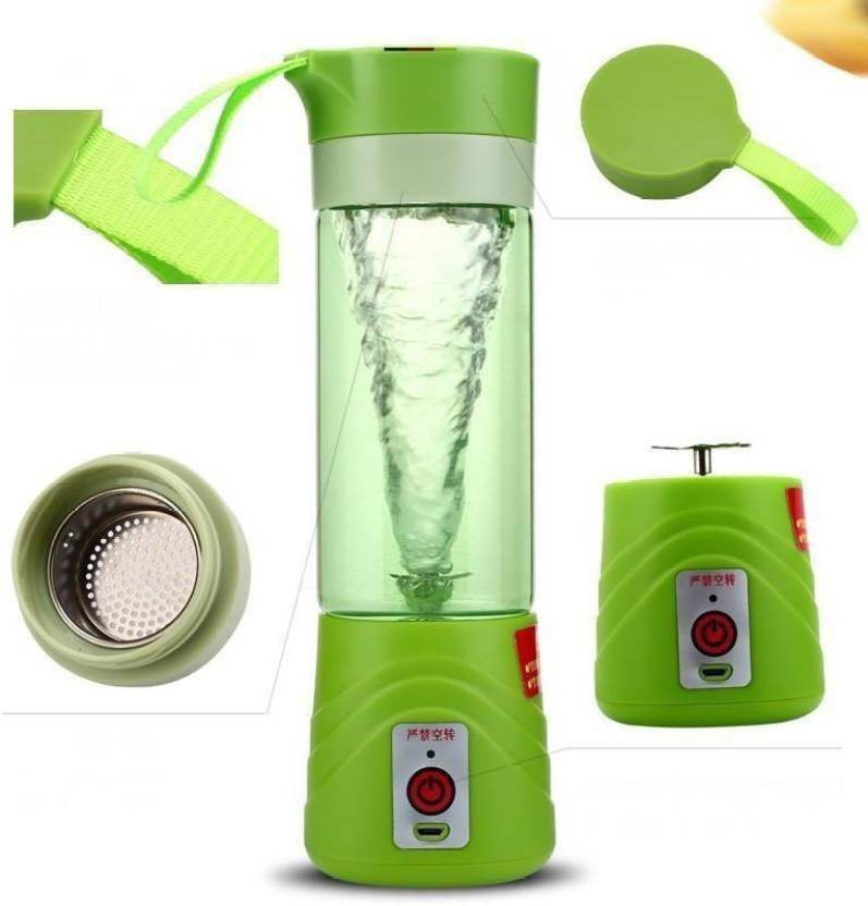 aeylight New Design Portable Battery Operated Juice Blender Rechargeable Fruits Mixer Bottle 230 W Juicer Mixer Grinder (Multicolor, 1 Jar)