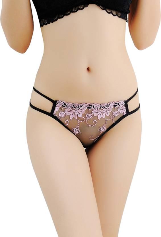 4dfba3965284 DealSeven Fashion Women's Thong Pink, Black Panty - Buy DealSeven ...