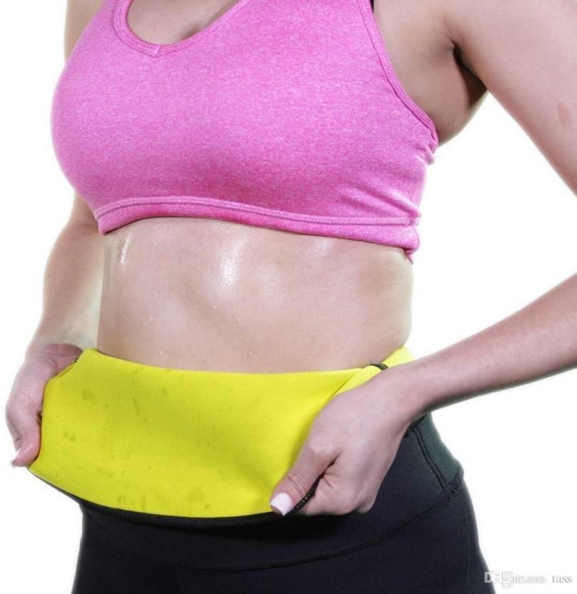 75e67a2941 Ritu Waist Trimmer Slim Sauna Waist Sweat Belt trimmer Fitness Waist  Trainer Corset waist slimming belt XXL Slimming Belt (Black)