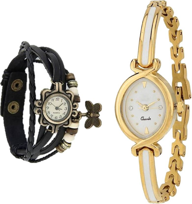 NEUTRON Brand New Royal Black And Gold Color Combo Watch