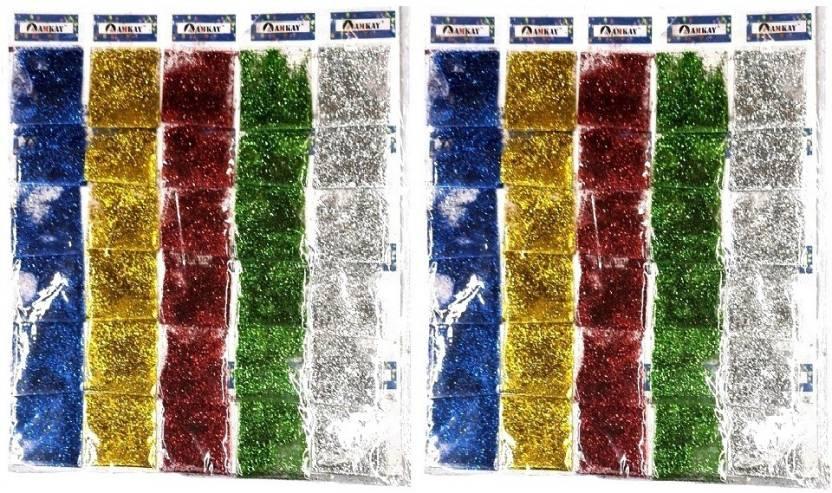 54467647b4 S2KCrafts s2kc-1853 glitter powder art & craft {multi color} - s2kc ...