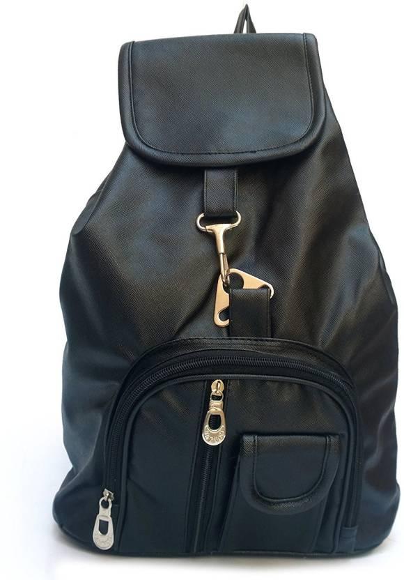 DAMDAM Stylish Girls School bag College Bag Studded Women s   Girls Backpack  Handbags 10 L Backpack (Black) f9b407b75382b