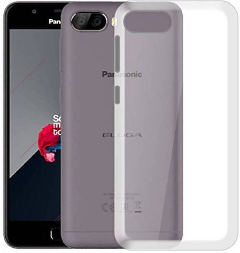 new product 714e9 ed167 Lixra Back Cover for Panasonic Eluga Ray 500 Transparent Back Cover ...