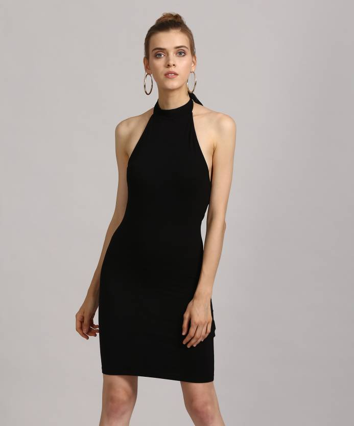 5b770c313c4 Forever 21 Women s Bodycon Black Dress - Buy BLACK Forever 21 ...