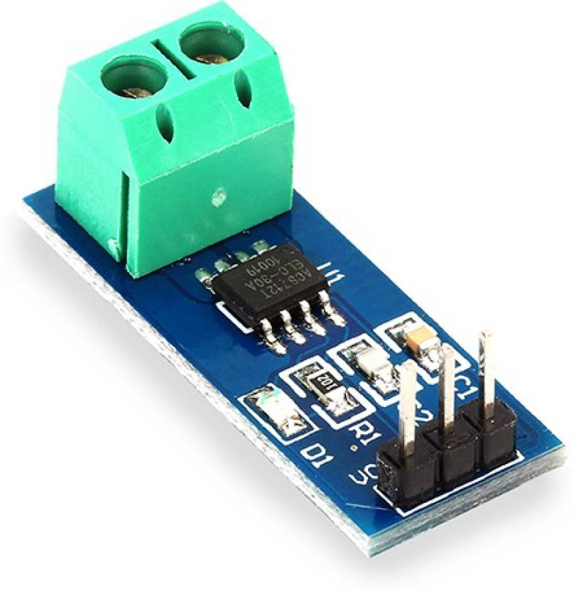 arduino AC / DC HALL EFFECT ANALOG CURRENT SENSING SENSOR